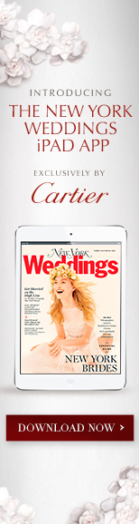New York Weddings issue app ad