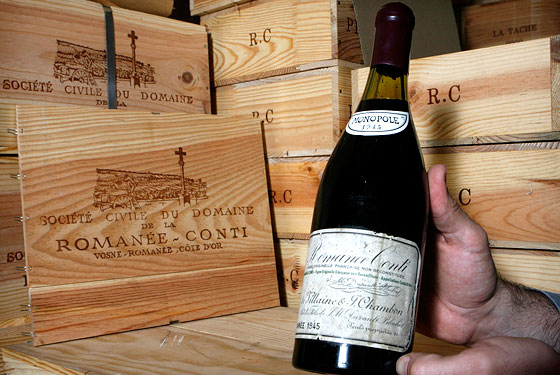 Romanée-Conti 1945 did not make the bargain lists.