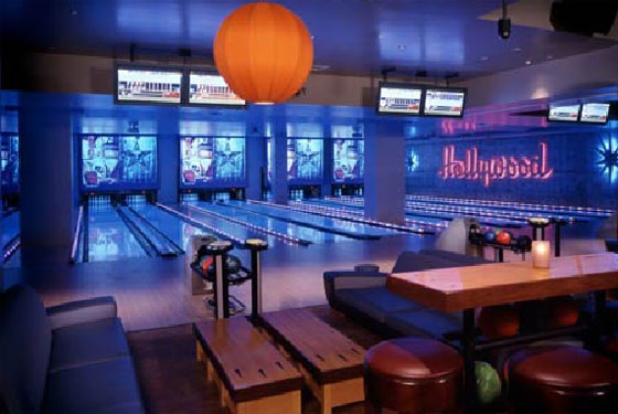 Lucky Strike's Hollywood location.