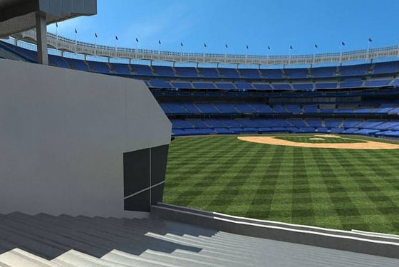 Not pictured: right field.