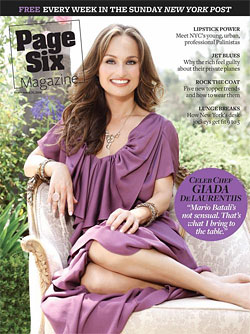 Giada seems to think she's more sensual than Mario.TBD, we say!