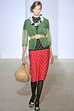 Milans Top Looks -- The Cut: New York Magazine's Fashion Blog :  spring 2009 roberto cavalli jil sander blog