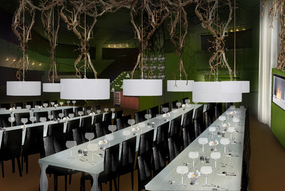A First Look at the Bon Appétit Supper Club & Café, Opening Thursday