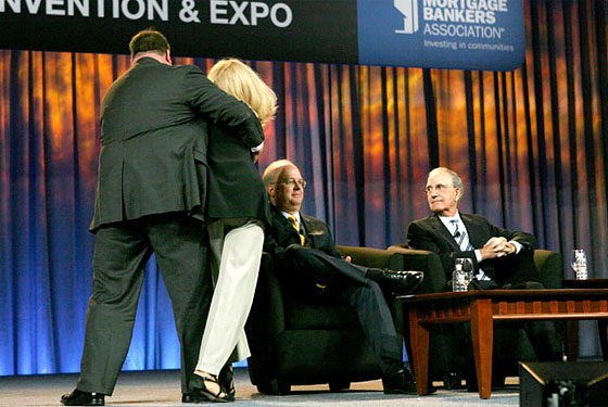 Actually it's totally funny. Look at Rove's face! He's like, 'Yeah, I brung the action.'