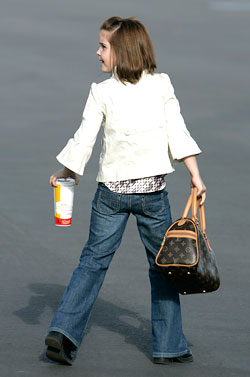 Sarah Palin's Daughter Carries Fake Louis Vuitton
