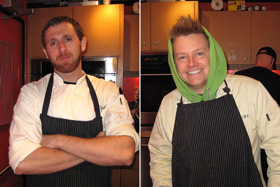 Andrew D'Ambrosi and Richard Blais cannot escape Top Chef.