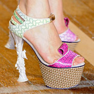 Basso & Brooke::For the Birds :  shoes birdies new york fashion week dangerous