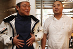 Iron Chef Gets Titanium Wrist After Hot-Tub Spill