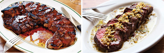 Peter Luger vs. the General Greene.