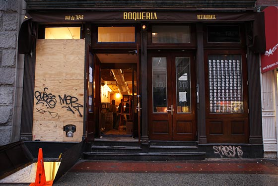 Boqueria Soho Gets Liquor, Will Open Next Week