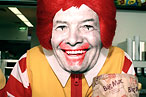 P&amp;eacute;pin, unlikely spokesman for McDonald&#39;s.