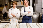Grant Achatz and Thomas Keller celebrate themselves in twenty courses for $1,500 a head.