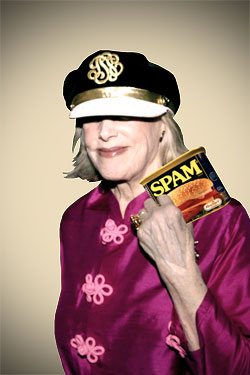 Gael Greene Experiments With Spam, and We Can Only Wonder What&#8217;s Next