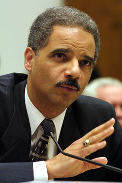 "Eric Holder is considering appointing a special prosecutor to look into the use of  ""enhanced interrogation."""