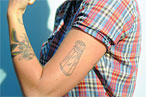 New Issue of 'Edible Brooklyn' Exposes Awesome Cheeseburger Tattoo