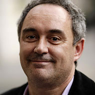 Ferran Adrià will soon cook dinner for Adam Roberts.