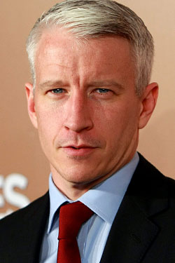 Anderson Cooper Has a Tense Brunch; Philip Glass Turns 75