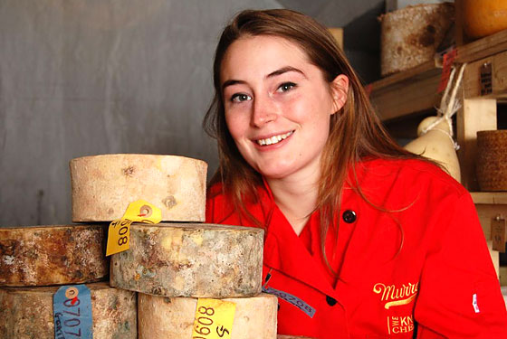 Mrs. Quicke&#8217;s Daughter, Jane, Discovers a World Beyond Cheddar at Murray&#8217;s Cheese