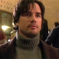 Rufus Humphry the dad in Gossip Girl wearing a turtle neck