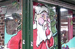 'Tis the Season: Immodest-Santa Painter Busy in Brooklyn