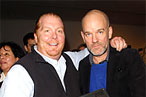 Big Batali, skinny Stipe, and a $20,000 lunch box.