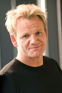 Gordon Ramsay, nice guy.