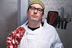 Your Funny Neighborhood Butcher, Tom Mylan