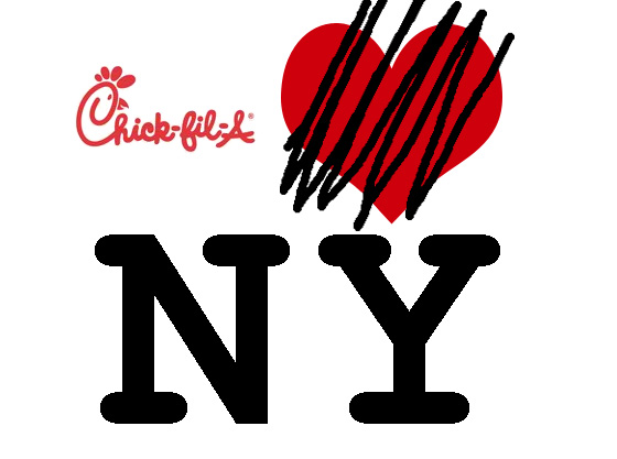 Chick-fil-A Denies New Yorkers a Free Sandwich