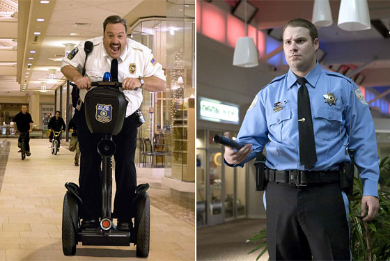 paul blart mall cop not your only mall cop movie option in 2009