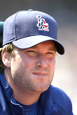 Derek Lowe, the one who got away. Ladies, are you with us?