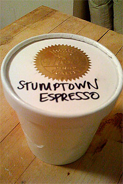 Stumptown Now Available in Frozen Form, Too