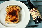 April Bloomfield's Welsh rarebit, available at the John Dory.