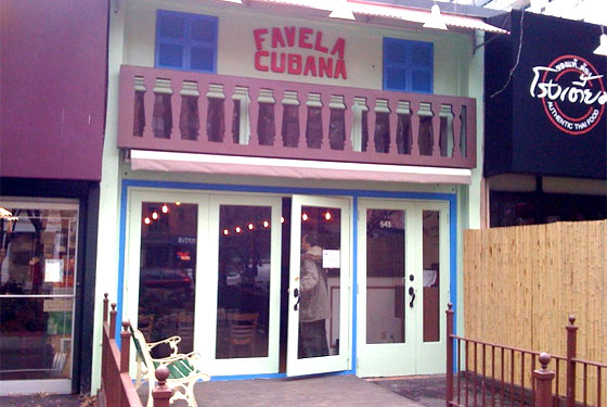 What To Eat At Favela Cubana Opening Tomorrow Grub Street