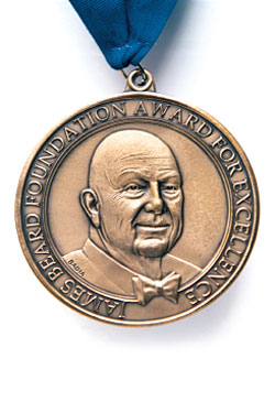 Honorees include chefs and writers.