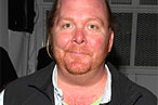 Mario Batali and Guy Fieri Cooking Together at Benefit Dinner in Santa Rosa