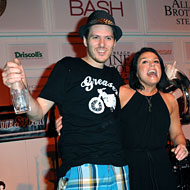 Rachael Ray and Spike Mendelsohn at the Bash.