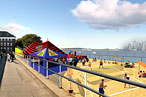 Water Taxi Beach Will Come to Governors Island