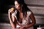 Padma Does a 'Burger Shot' for Hardee's