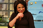 'Rachael Ray's Pit Bull Thinks Ears Are Yummo'