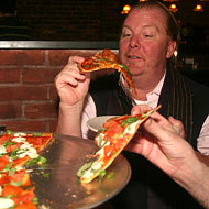 Mario Batali Judges New York's New Pizza Joints