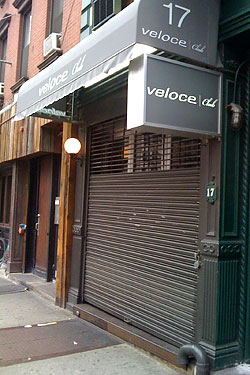 Bar Veloce Dresses Up, Becomes Veloce Club