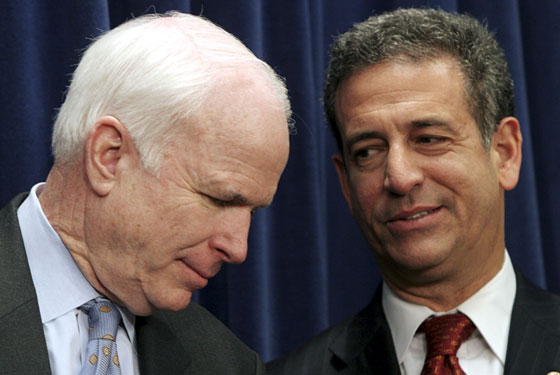"McCain: ""This bill is going down. At least for a <i>week</i>."" Feingold: ""God, nothing is more sexy than watching you impede fiscal measures."""
