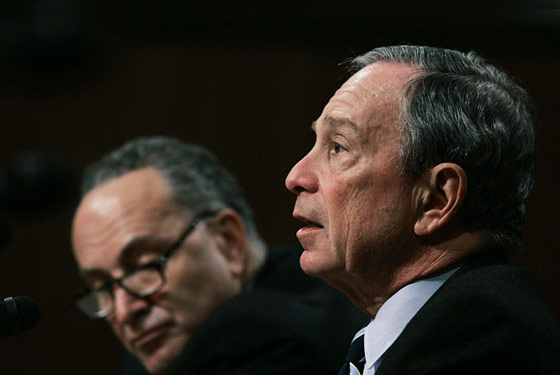 Bloomberg and Schumer in 2007.