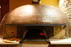 The oven at Kesté.