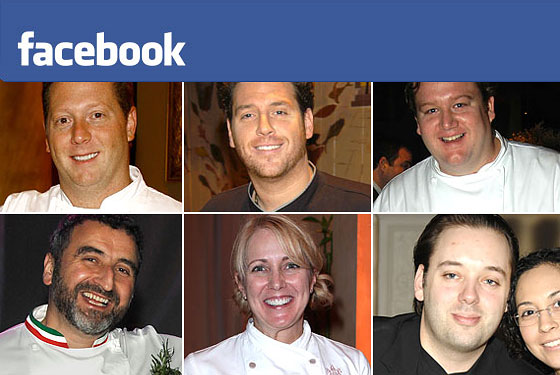 Status Update: Which Chefs Are Your Facebook Friends?