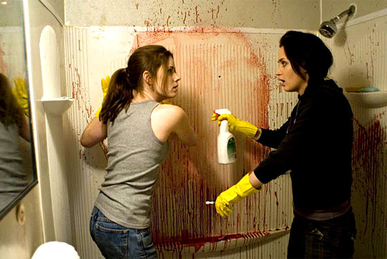 Amy Adams and Emily Blunt in Sunshine Cleaning.