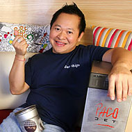 Chef Ong in happier times.