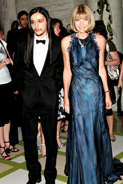 Olivier Theyskens Honeymooning with Halston?
