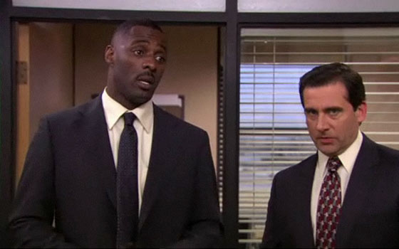 Idris elba the office