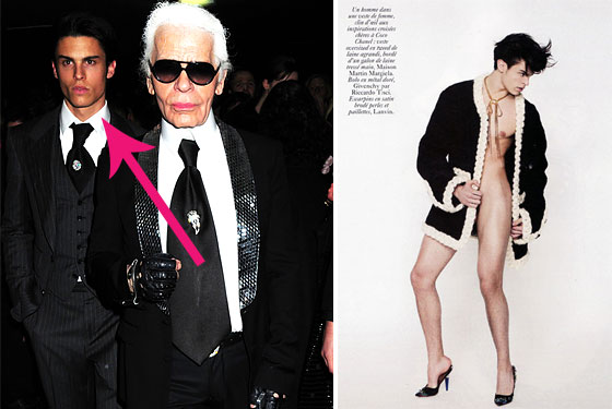 from Giancarlo is karl lagerfeld gay